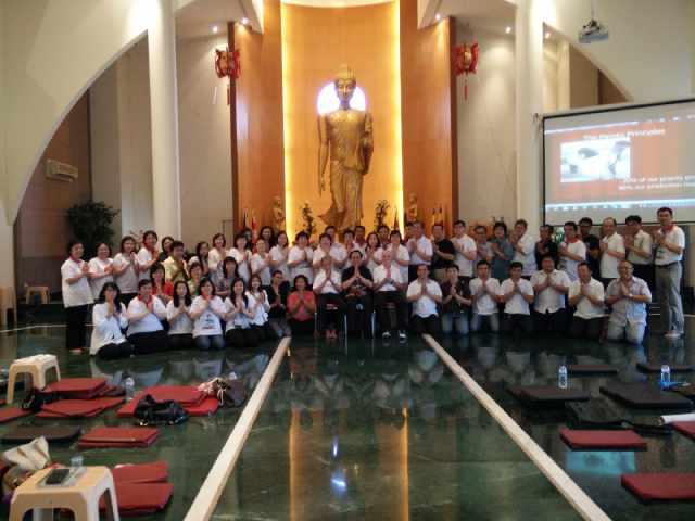 Kelas Dhamma Abhidhamma 20-21 Desember 2014 bersama Bp. Selamat Rodjali, VDJ, Surabaya