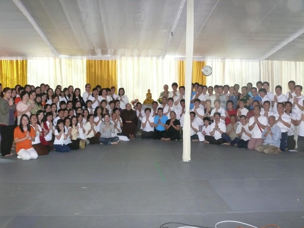 Praktik Samadhi 06-10 Agustus 2013 bersama Sayalay Dipankara, VPP, Trawas